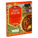 Truly Indian Entree Aloo Matar Potatoes & Peas in Sauce Medium Heat & Eat