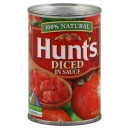Hunt's Tomatoes Diced in Sauce 100% Natural