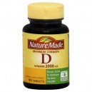 Nature Made Vitamin D 2000 IU Maximum Strength Tablets