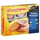 Oscar Mayer Lunchables Cracker Stackers Turkey + American with Capri Sun