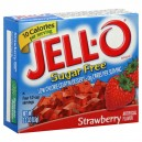 Jell-O Gelatin Dessert Strawberry Sugar Free