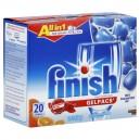 FINISH All in 1 Gelpacs Auto Dishwasher Detergent + Jet-Dry Orange