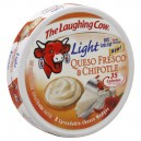 The Laughing Cow Cheese Light Queso Fresco & Chipotle Wedges - 8 ct