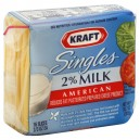 Kraft Cheese American 2% Milk Reduced Fat Singles - 16 ct