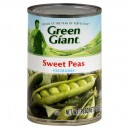 Green Giant Peas Sweet Young Tender