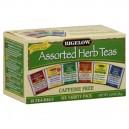 Bigelow Six Assorted Herbal Tea Bags No Caffeine