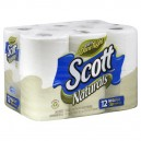 Scott Naturals Bath Tissue Mega Rolls Unscented
