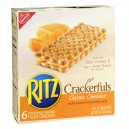 Nabisco Ritz Crackerfuls Filled Crackers Cheddar Cheese - 6 ct
