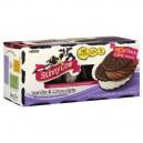 Skinny Cow Ice Cream Sandwiches Vanilla & Chocolate Low Fat - 6 ct