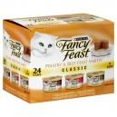 Fancy Feast Wet Cat Food Classic Poultry & Beef Feast Variety - 24 pk