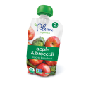 Plum Organic's Second Blends Apple & Broccoli
