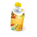 Plum Organic's Second Blends Pumpkin & Banana