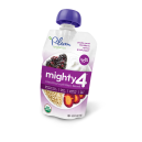 Plum Organic's Mighty 4 Blends Purple Carrot, Blackberry, Quinoa & Greek Yogurt