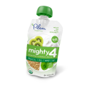 Plum Organic's Mighty 4 Blends Spinach, Kiwi, Barley & Greek Yogurt