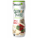 Sprout Organic Baby Food Stage 2 Apple Kale Quinoa Puffs
