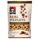 Quaker Real Medleys Granola Dark Chocolate Cranberry Almond
