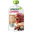 Sprout Organic Baby Food Stage 2 Apple, Oatmeal, Raisin with Cinnamon