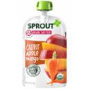 Sprout Organic Baby Food Stage 2 Carrot, Apple & Mango