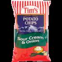 Tim's Cascade Snacks Potato Chips Sour Cream & Onion