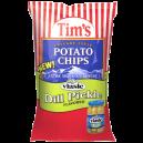 Tim's Cascade Snacks Potato Chips Dill Pickle