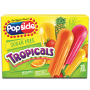 Popsicle Ice Pops Sugar Free Tropicals - 20 ct