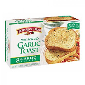 Pepperidge Farm Toast Garlic - 8 ct Frozen