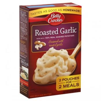 Betty Crocker Potatoes Mashed Roasted Garlic