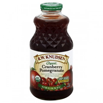 R.W. Knudsen Family Cranberry Pomegranate Juice No Sugar Added Organic