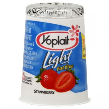 Yoplait Light Yogurt Strawberry Fat Free