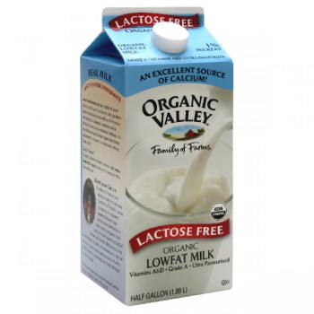 Organic Valley Milk Lactose Free Low Fat 1%