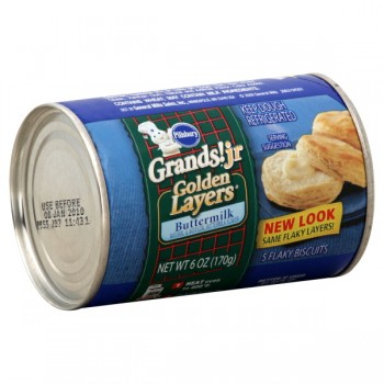 Pillsbury Grands! Jr. Biscuits Buttermilk Golden Layers - 5 ct