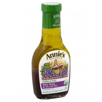 Annie's Naturals Dressing Red Wine & Olive Oil Vinaigrette Organic