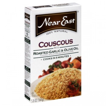 Near East Couscous Mix Roasted Garlic & Olive Oil 100% Natural