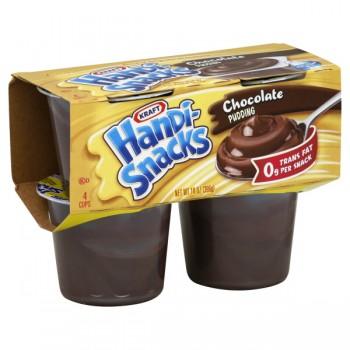 Kraft Handi-Snacks Pudding Chocolate - 4 pk