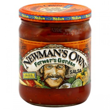 Newman's Own Salsa Farmer's Garden Medium All Natural
