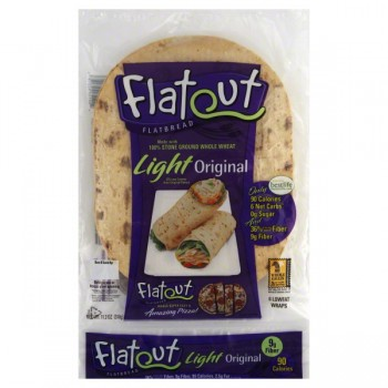 Flatout Wraps Light - 6 ct