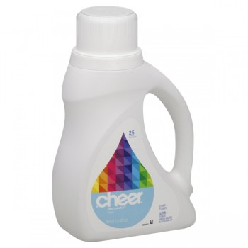 Cheer Concentrated Liquid Laundry Detergent Stay Colorful Free