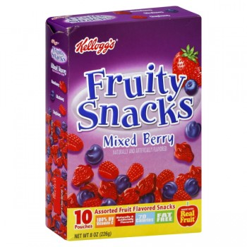 Kellogg's Fruity Snacks Value Pack Mixed Berry - 10 ct