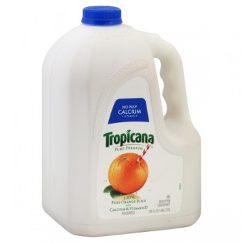 Tropicana Pure Premium 100% Pure Orange Juice with Calcium Pulp Free