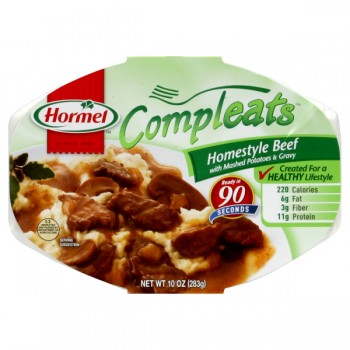Hormel Compleats Meal Homestyle Beef, Mashed Potatoes & Gravy