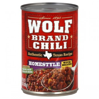 Wolf Brand Chili Homestyle with Beans