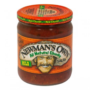 Newman's Own Salsa Chunky Mild All Natural