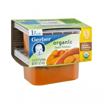 Gerber 1st Foods Sweet Potatoes Organic - 2 pk