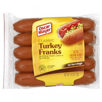 Oscar Mayer Franks Classic Turkey - 10 ct