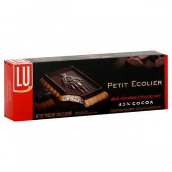 LU Le Petit Ecolier Biscuits Dark Chocolate
