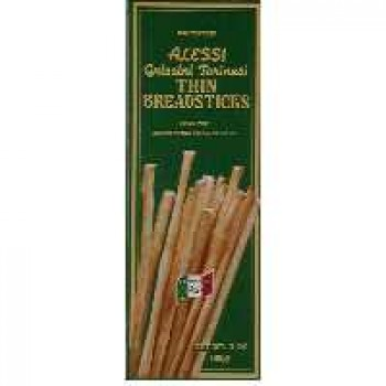 Alessi Grissini Torinesi Breadsticks Thin - 12 ct