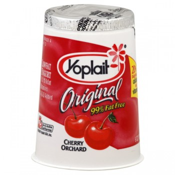 Yoplait Original Yogurt Cherry Orchard 99% Fat Free
