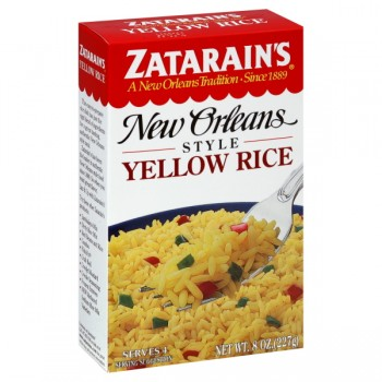 Zatarain's New Orleans Style Rice Yellow