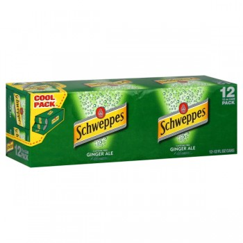 Schweppes Ginger Ale - 12 pk
