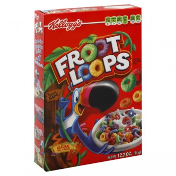Kellogg's Froot Loops Cereal with Sprinkles